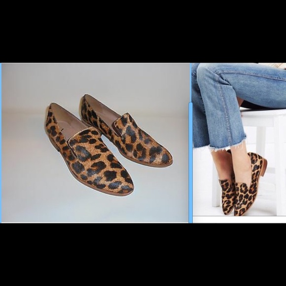 a47cb4533ea Madewell Shoes - Madewell Leopard calf hair Loafers